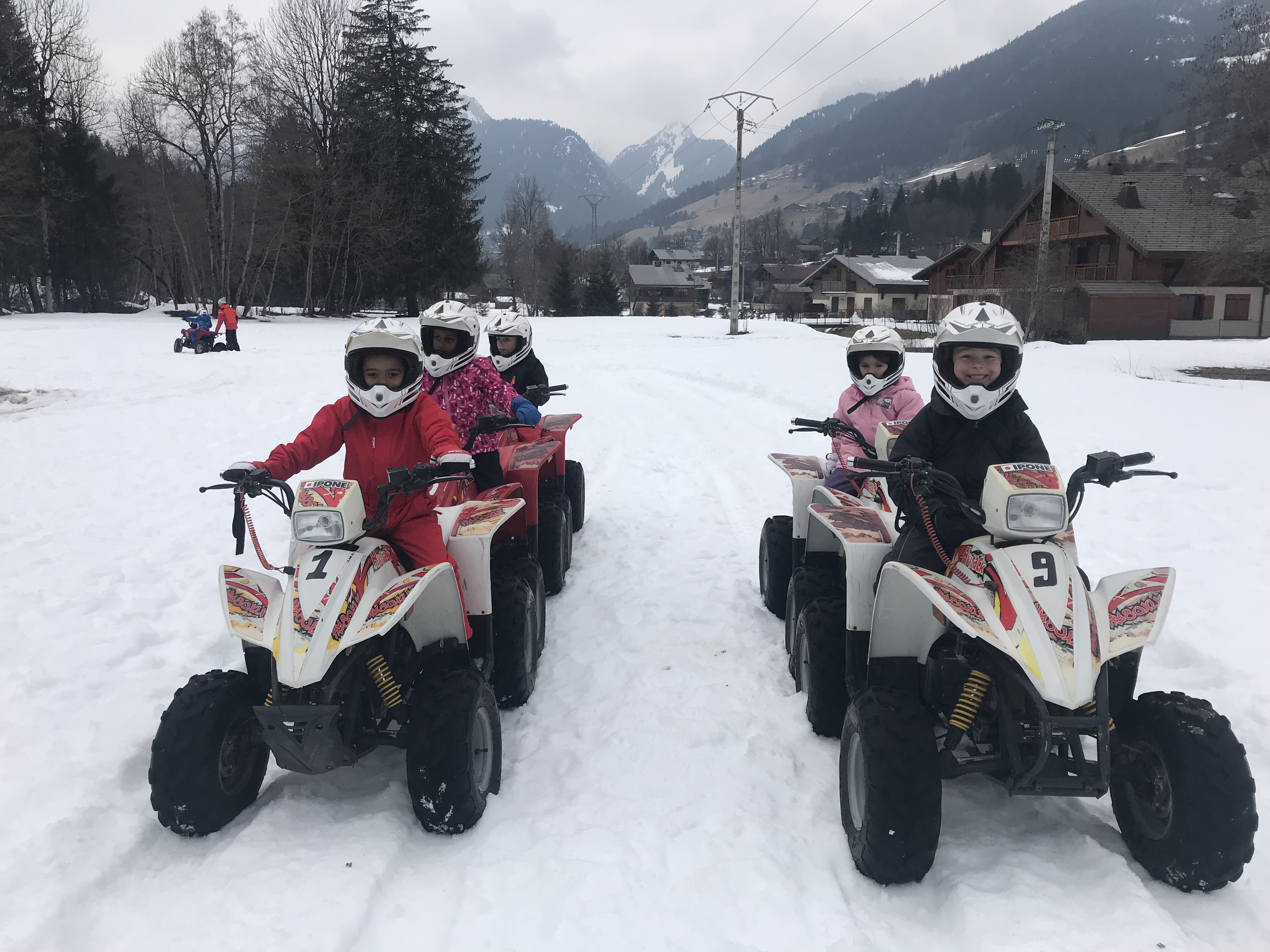 Quad des neiges à La Chapelle d'Abondance-1